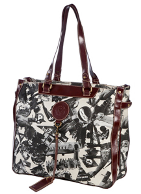 SL Going Places Large Travel Tote Stone