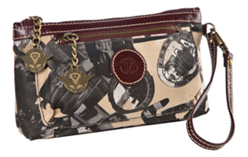 SL Going Places Cosmetic/ Wristlet Warm Sand