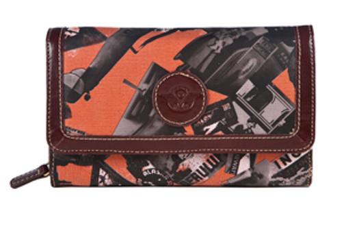 SL Going Places Wallet Orange
