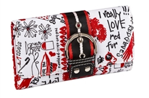 Sydney Love Paint the Town Red Wallet