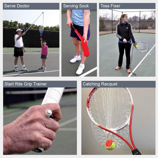 Tennis Training Aids Serve Aids Oncourt Offcourt