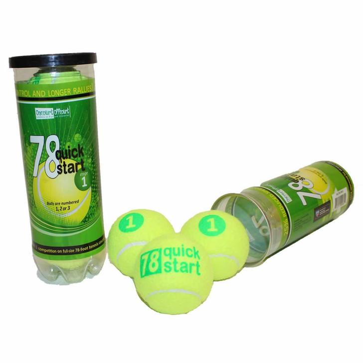 """""""Quick Start 78"""" Green Dot Balls"""
