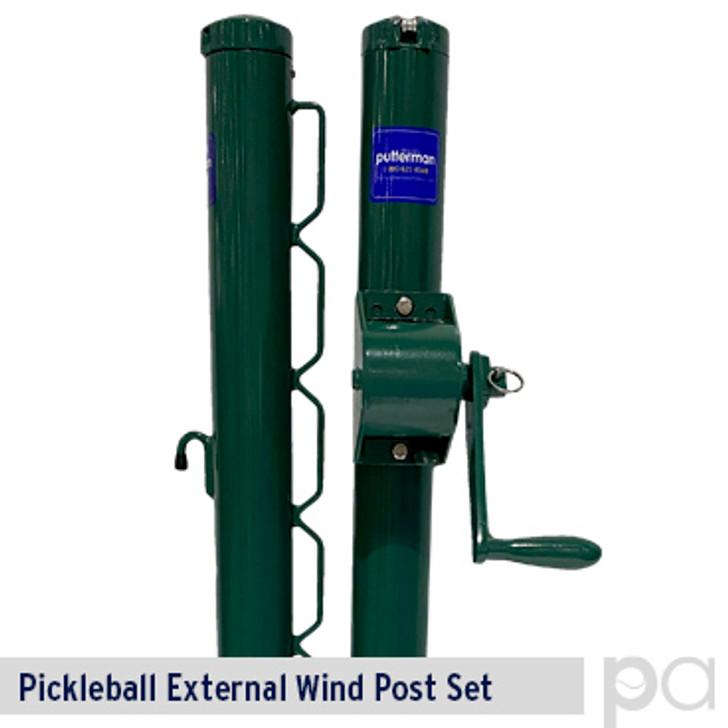 Putterman Pickleball External Wind Post Set