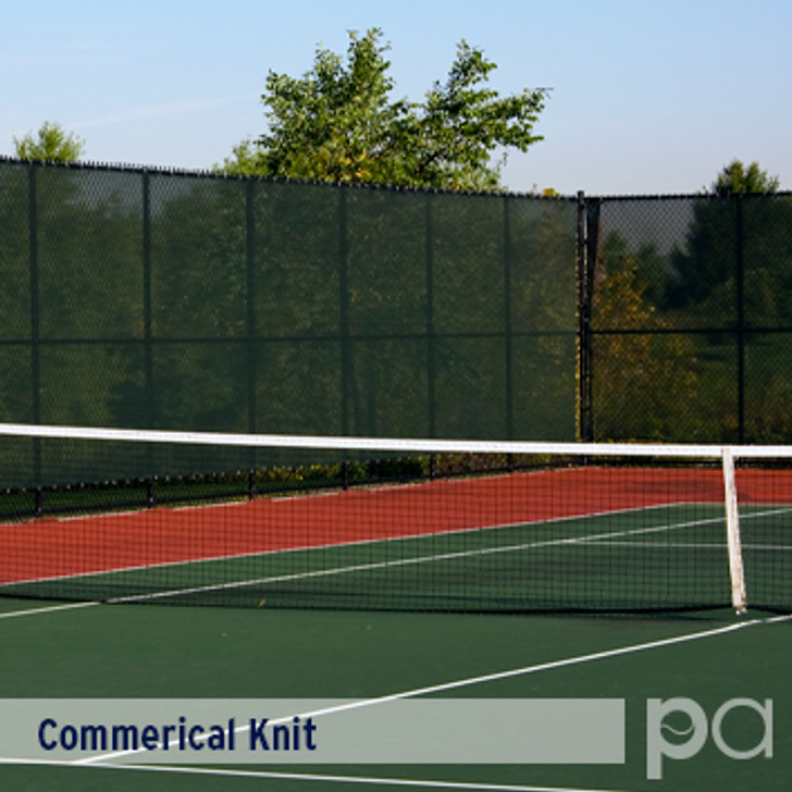 Commercial Knit Fabricated Windscreen Panels