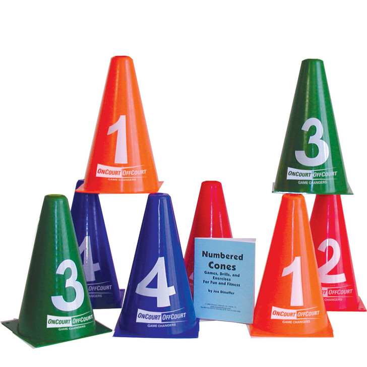 Numbered Cones
