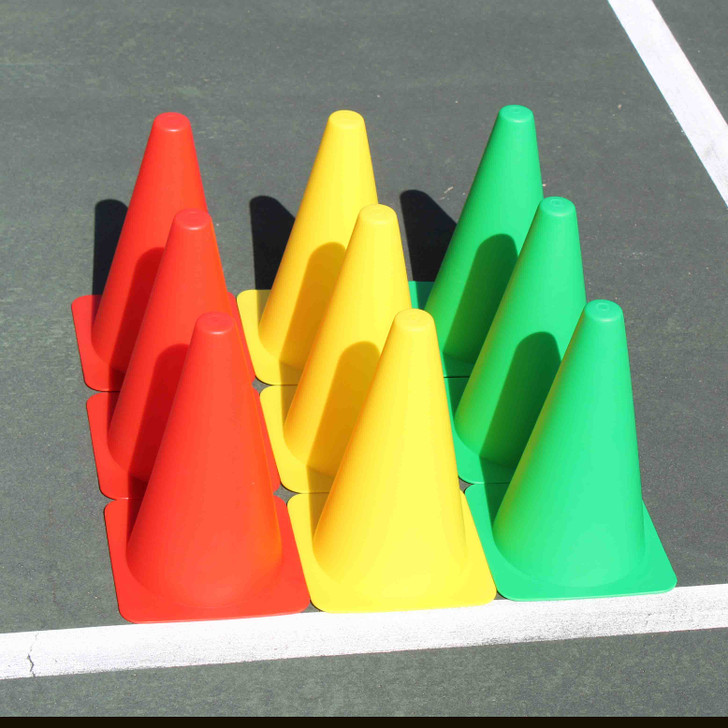 Mini Stoplight Cones