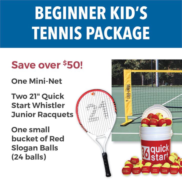 Beginner Kid's Tennis Package