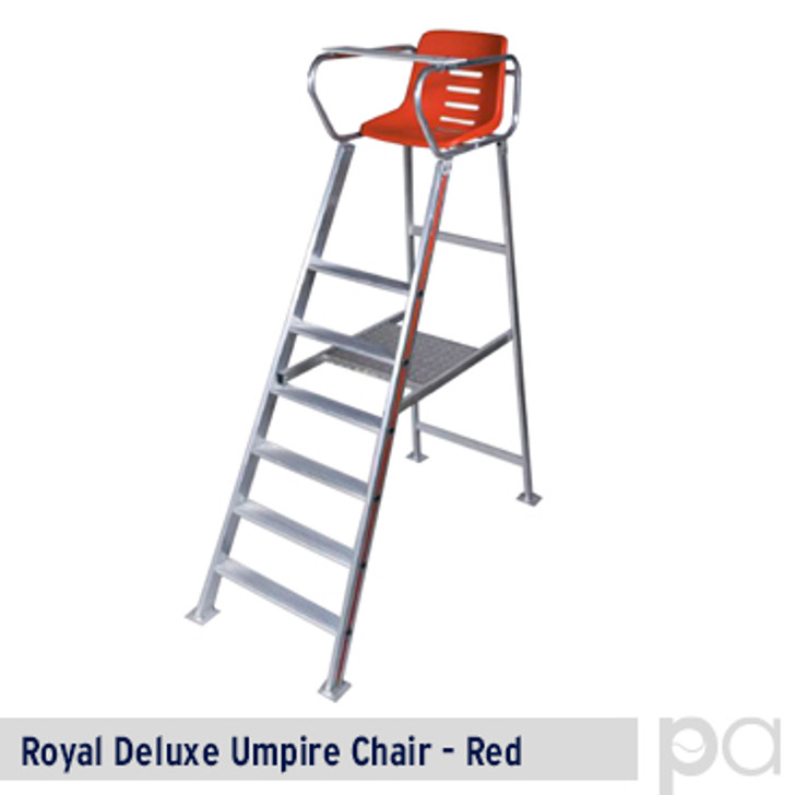 Royal Deluxe Umpire Chair - Red
