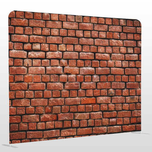 Brick wall single sided pillow backdrop 8ft x 8ft