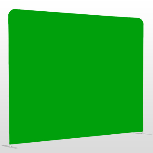 Green screen single sided pillow backdrop 8ft x 8ft