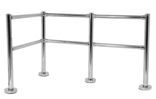 Double Rail Post