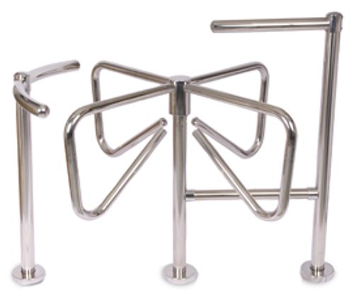 """Cloverleaf"" Four-Arm Turnstile"