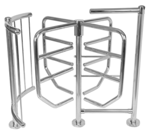V-83 High Security Four-Arm Turnstile