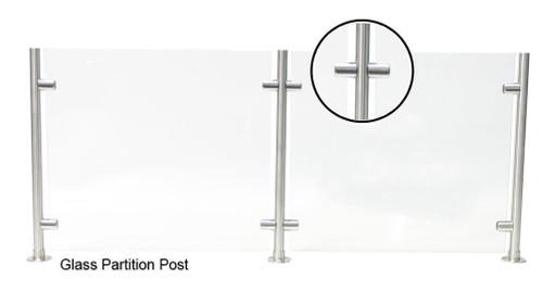 Round Partition Post - Center