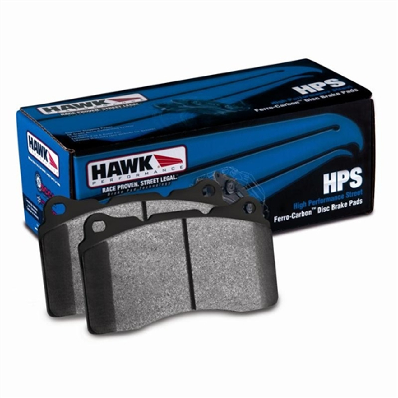 Challenger Charger Hawk HPS Front And Rear Brake Pads For 2005-2014 300