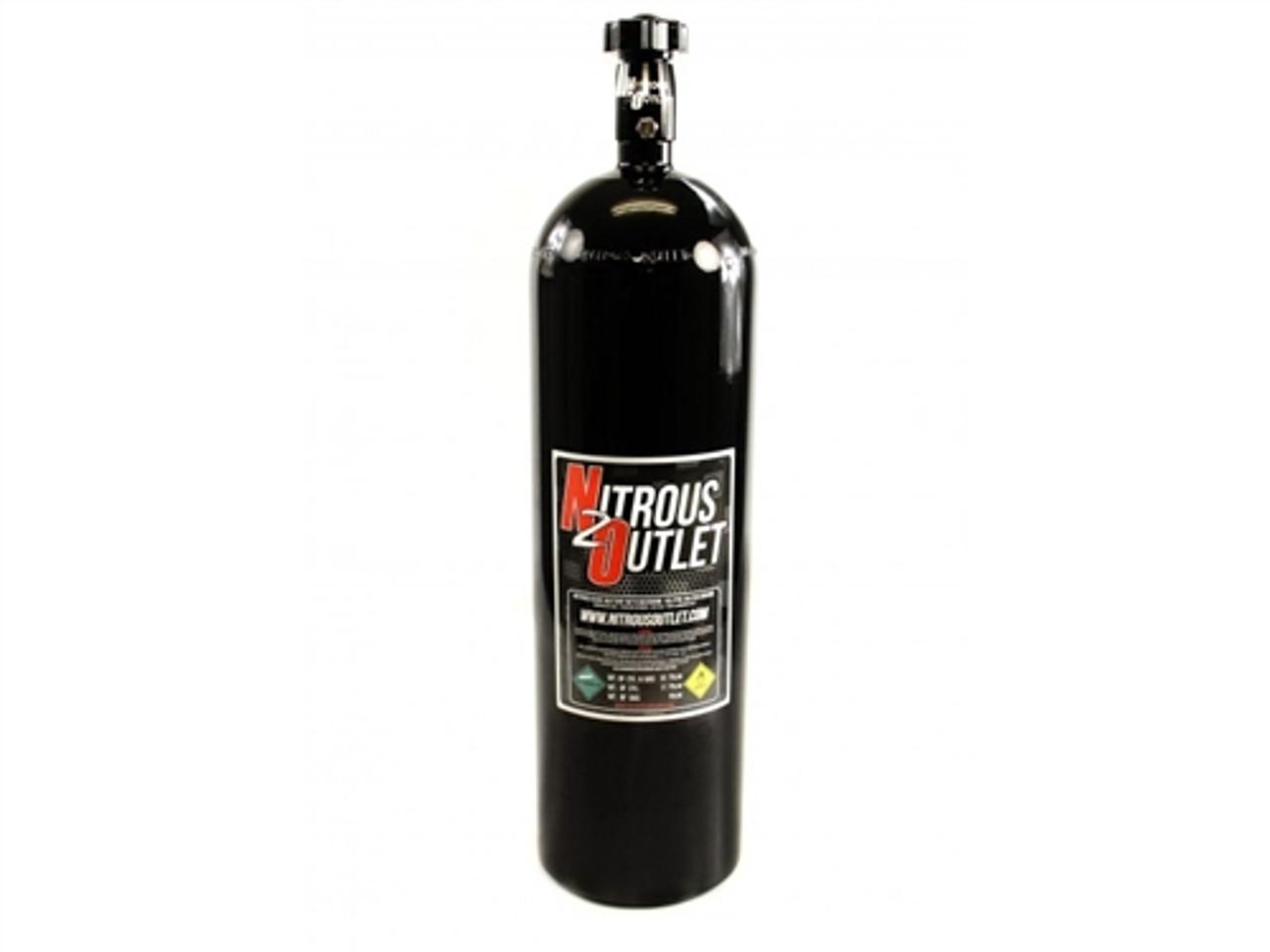 Nitrous Outlet 10lb Nitrous Bottle /& High Flow Valve