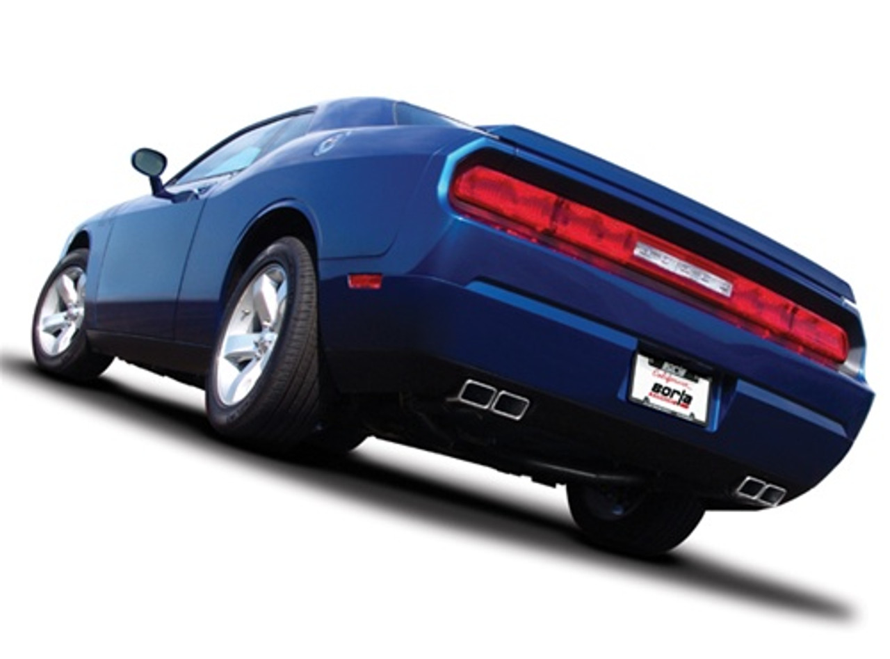 Borla Complete Performance Exhaust System For 5 7l Dodge Challenger R T 140297