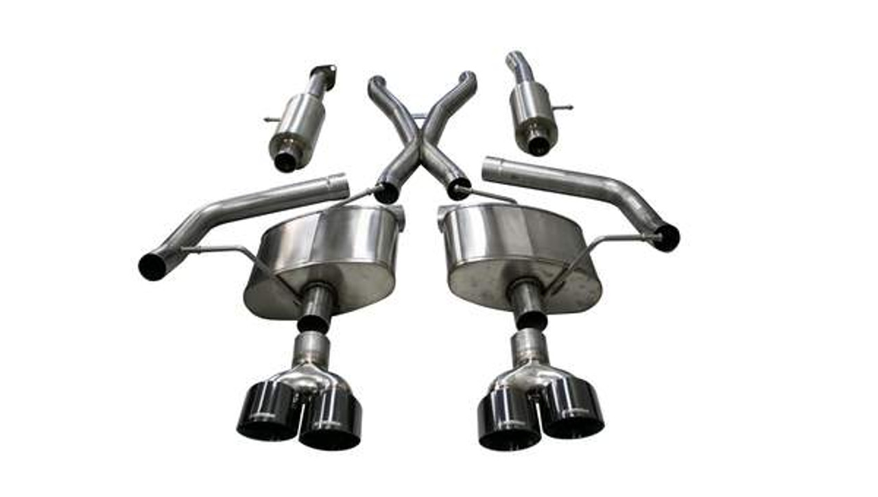 CORSA 14466BLK Cat-Back Exhaust System