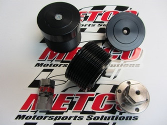 Metco Hellcat Upper Supercharger Pulley Kit (2015+ Challenger & Charger Hellcat)