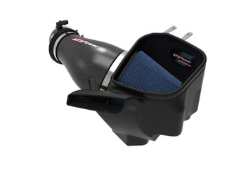 aFe Power Track Series Carbon Fiber Cold Air Intake System w/Pro 5R Filter for 19-Current Jeep Grand Cherokee Trackhawk & Durango SRT Hellcat 6.2L - 57-10009R