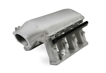 HOLLEY GEN III HEMI Hi-Ram EFI Manifold for use with a  95 mm LS Style Throttle Body - ( 2009-up 5.7L, 2005-2010 6.1L, and 2011-up 6.4L) - 300-650
