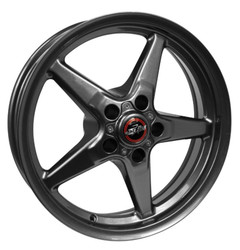 Race Star 92 Drag Star Direct Drill 17x9.5 Metallic Grey - 92-795452G