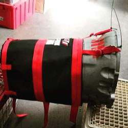 DJ Safety Transmission Blanket for 15-21 8HP90 8 Speed Automatic