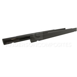 Anderson Composites OEM-style Carbon Fiber Side Skirts (2008-2014 Challenger) - AC-SS0910DGCH-OE