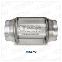 G-Sport 400 CPSI GEN 2 EPA Approved 3.0in Inlet/Outlet Catalytic Converter - 50230