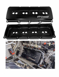 Granatelli Motorsports Billet Valve Covers in Black for Gen III HEMI 5.7/6.1/6.2/6.4L