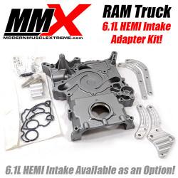 MMX 6.1L HEMI Intake Adapter Kit for 03-08 Dodge Ram 5.7L
