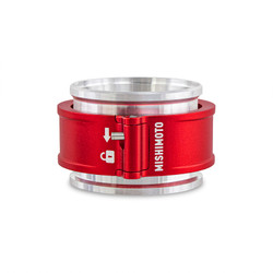 """Mishimoto 2.5"""" Quick Release Clamp Assembly - Red - MMCLAMP-QD-25RD"""