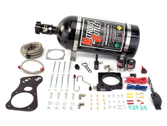 Nitrous Outlet Hellcat/Trackhawk Complete Plate Kit by HHP Racing (2015+ SRT8 6.2L Dodge Challenger, Charger, Jeep Grand Cherokee) - HHP-HC-CUSTOM-NO