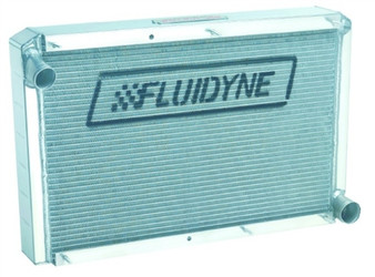 Fluidyne Heavy Duty Aluminum Drop-In Radiator (2005-2014 5.7L/6.1L/6.4L HEMI Cars) - SHP30-HD