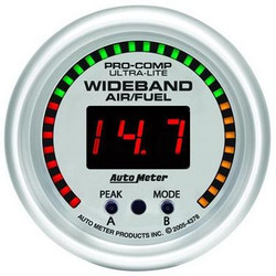 Auto Meter Ultra-Lite Series Digital Wideband O2 Meter (10 to 20 AFR) - 4397