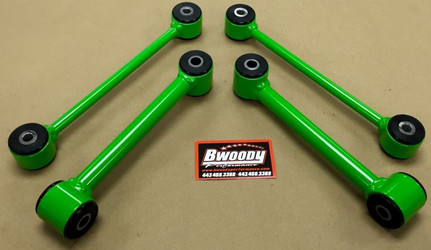 BWoody Performance Heavy Duty Sway Bar End Links (Challenger, Charger, 300c & Magnums. (NOT compatible with Hellcat models or AWD models) - 100.2372
