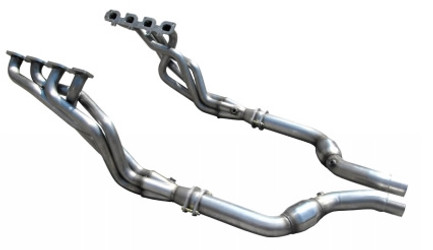 """American Racing Headers 1-3/4"""" x 3"""" Long System with Cats for 05-14 Charger, Magnum & 300C 6.1/6.4L"""