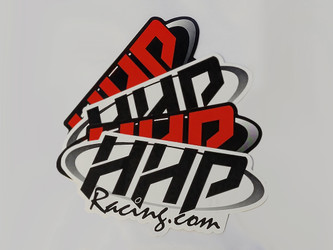 HHPRacing 4 Pack Color Vinyl Stickers (Small) - HHPVINYL-6