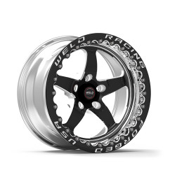 """WELD Racing S71 RT-S 15x11 6.5"""" Backspace Rear Black Center Beadlock Wheel for 18-Current Demon, Challenger & Charger SRT Hellcat Redeye & Widebody with 15"""" Brake Conversion - 71MB-511W65F"""