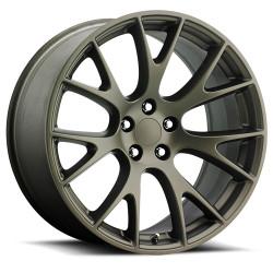 Factory Reproductions FR70 Hellcat Replica Wheel in Bronze
