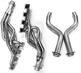 "Kooks Stainless Steel 1-3/4"" Longtube Headers w/Off-Road Catless Mid Pipes (2005-2008 5.7L 300, Charger, Magnum) - 3100H210"