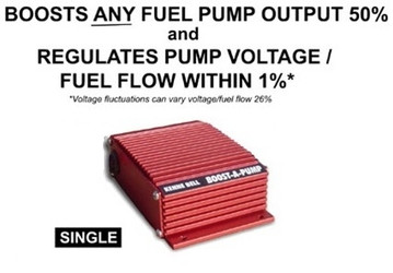 """Kenne Bell """"Boost-A-Pump"""" 40A/17.5V For Blower & NO2 Applications - KB89069"""