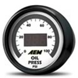 AEM Digital Fuel Pressure Gauge (0-100 PSI) - 30-4401