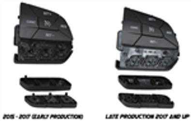 ZAutomotive - Aux Buttons (2015+ Charger,Challenger, 300, Durango, Grand Cherokee) - ZAUTOAUX