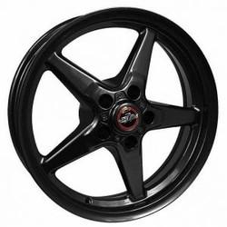 Race Star 92 Drag Star Direct Drill 18x5 Gloss Black - 92-850445B
