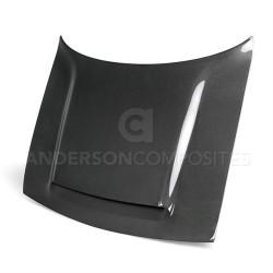 Anderson Composites OEM-style Carbon Fiber Hood (2008-2018 Challenger / Challenger Hellcat / Demon) - AC-HD18DGCHDM-OE