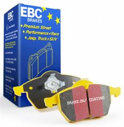 EBC Yellowstuff Ceramic/Kevlar Fiber Front Brake Pads (2012-2018 6.4L 6-Piston equipped SRT Vehicles) - DP41853R