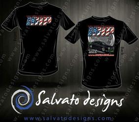 High Horse Performance Branded T-Shirt -  HHP Stars 'n Stripes Challenger, Short Sleeve Tee Shirt - 1601