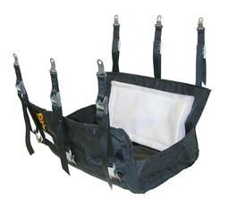 DJ Safety Flexible Ballistic Engine Diaper for 05-21 Gen3 HEMI 5.7L/6.1L/6.4L/6.2L RWD Car