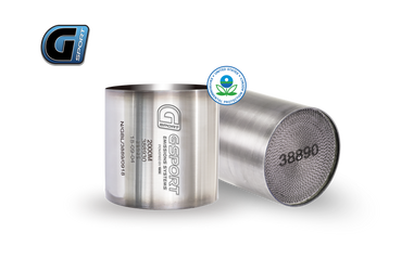 G-Sport 300 CPSI EPA Approved 4in Dia Body x 4in OAL Catalytic Converter Substrate & Mantle